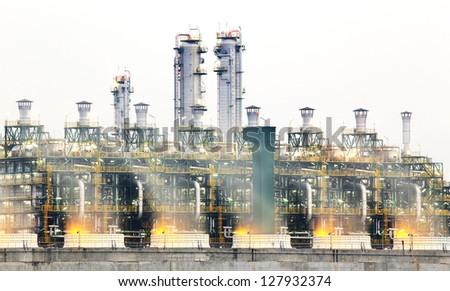 Power station - stock photo