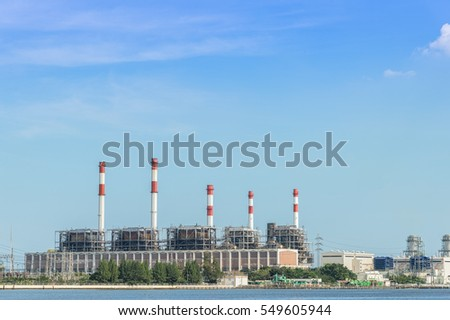 Power station industy