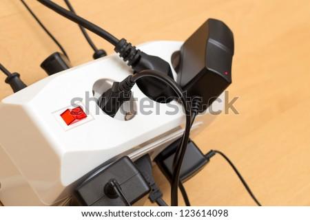 Power Strip - stock photo