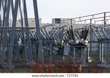 Power Substation - stock photo