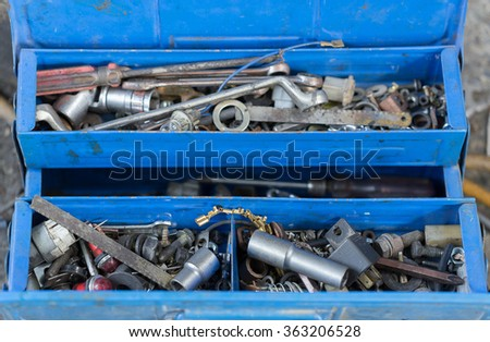 Power Tools Engine - stock photo