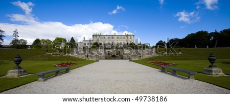 Powerscourt is one of the most beautiful country estates in Ireland. Situated in the mountains of Wicklow near Dublin.