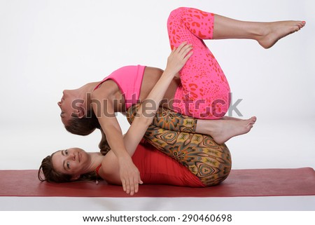 acroyoga stock photos images  pictures  shutterstock
