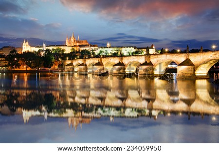 Prague castle, Czech republic, Hradcany - stock photo