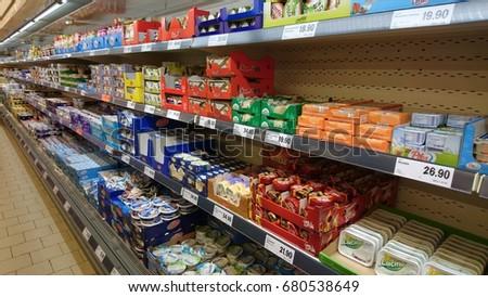 lidl supermarket czech republic