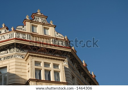 Prague Ornate Roof detail