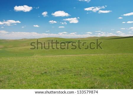 prairie - stock photo