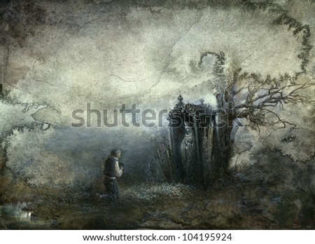 Prayer - stock photo