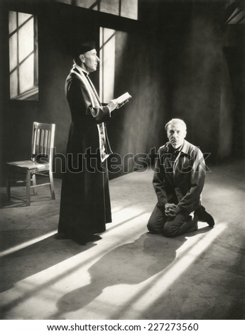 Praying for forgiveness - stock photo