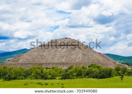 Pre-Hispanic City of Teotihuacan  - UNESCO Site in Mexico City