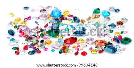 precious gems - stock photo
