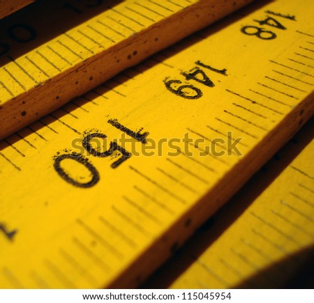 precision line - stock photo
