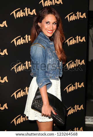 Preeya Kalidis arriving for the Tabitha Collection Launch, at 5 Canvendish Square, London. 05/09/2012 Picture by: Alexandra Glen