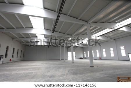 prefabricated background - stock photo