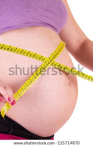 Pregnant women - stock photo