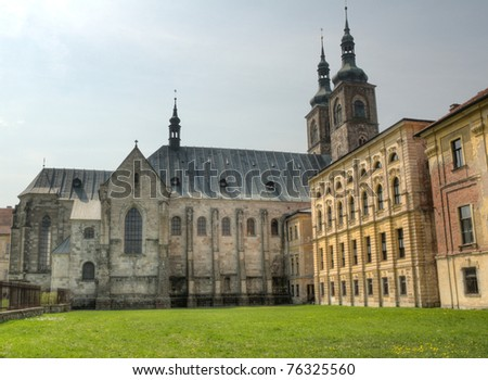 Premonstratensian Monastery of Tepla in Czech Republic