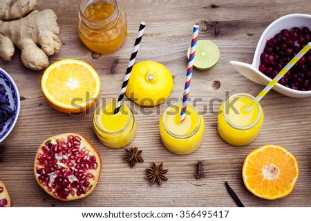 Health Food Coctail For People Over
