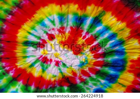 prepare for made the tie-dye, Thai handicraft  - stock photo