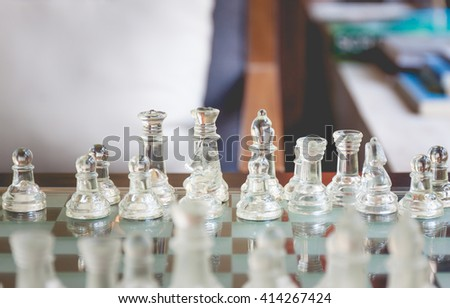 Prepare to start a chess game