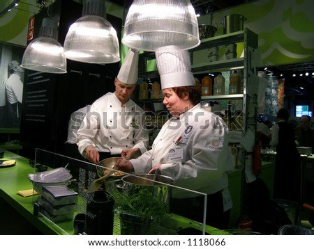 Preparing food - stock photo