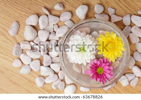 Preparing for spa and wellness - stock photo