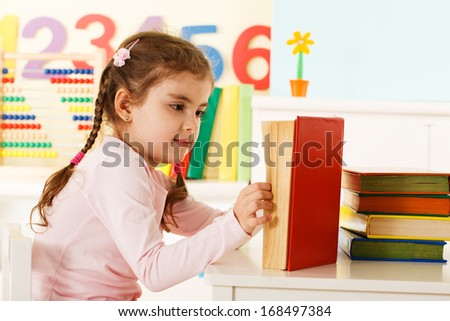 preschool  - stock photo