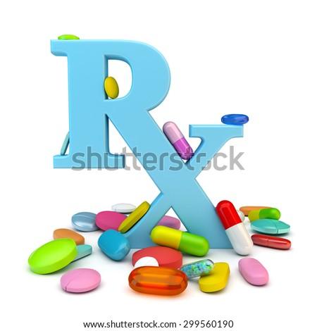 Prescription drugs - stock photo