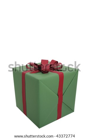 present box closeup - stock photo