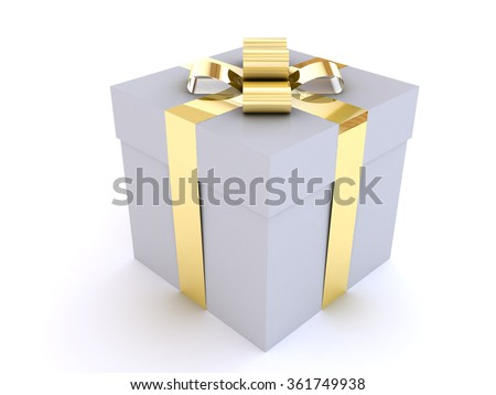 Present on a white background