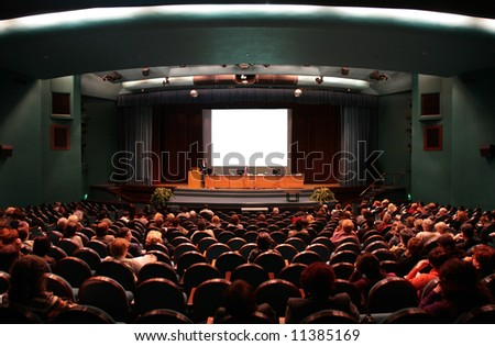 presentations - stock photo