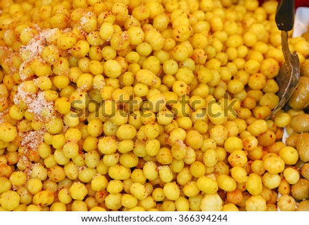 Preserved fruit, Indian Gooseberry