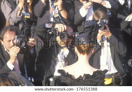 Press Photographing Celebrity at the 62nd Annual Academy Awards, Los Angeles, California - stock photo