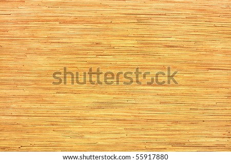 pressed bamboo board natural background - stock photo