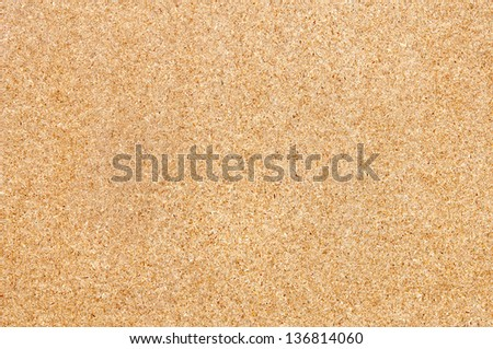 Pressed chipboard background, wood texture - stock photo