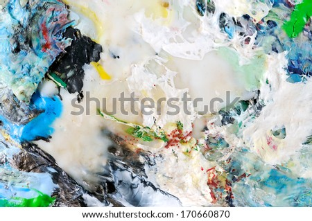 Pressed recycle plastic  - stock photo