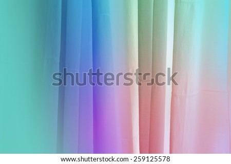 Pretty abstract background with vertical 3d lines - stock photo