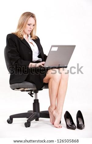 Pretty attractive caucasian woman in her twenties - stock photo