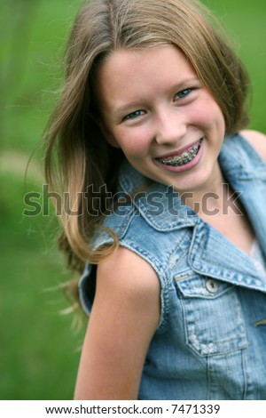 Kids With Braces Stock Images Royalty Free Images