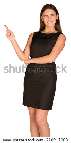 Pretty businesswoman - stock photo