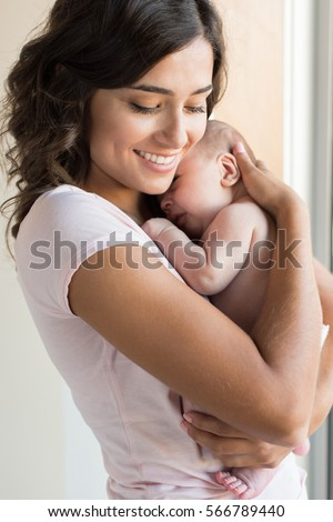 Mother And Newborn Baby Stock Images, Royalty-Free Images ...