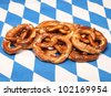 pretzel - stock photo