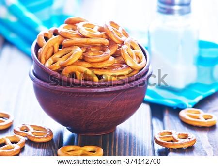 pretzels - stock photo