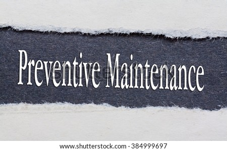 preventive maintenance essays The occupational health and safety administration (osha) considers preventive maintenance a form of hazard control in the workplace that prevents injuries osha regulations require employers to.
