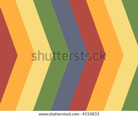Primary colors striped background - stock photo