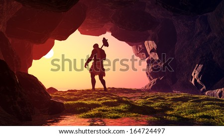 man cave murals caveman stock images royalty free images vectors shutterstock