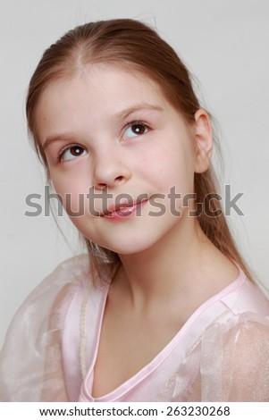 Princess portrait - stock photo