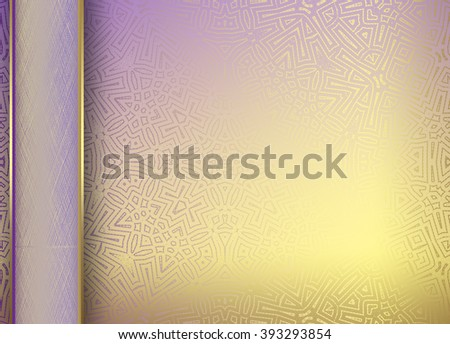 Print Brown golden Abstract   background for  design