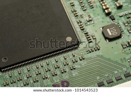 printed circuit board smd ic mounted stock photo royalty free rh shutterstock com
