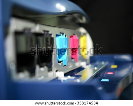 printer color ink CMYK