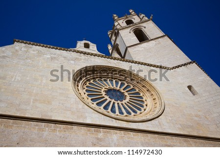 Prioral de Sant Pere in Reus, Spain - stock photo